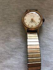 Vintage Timex Gold Tone Ladies Wind Up Watch