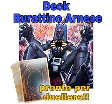 Yu-Gi-Oh! Baraja Completo Marioneta Destapador Italiano 40 Tarjetas + Extra #