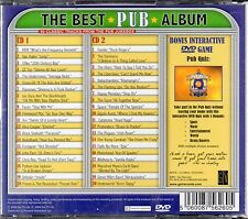 The Best Pub Album (40 track double CD + interactive DVD game, 2011)
