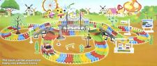 Enfants Jouer Track Set , Coloré Voiture Jeu Parfait Cadeau pour Enfants, Maison