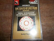 CASSETTE OF 1965 RECORDING-OFFENBACH-TALES OF HOFFMAN-HIGHLIGHTS-AS NEW-