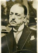 """Mr BARETY candidat rapporteur Budget 1932"" Photo originale G. DEVRED / Agce ROL"