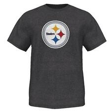Pittsburgh Steelers Victory Gear VII Shirt Black Marled XL Extra Large NWT