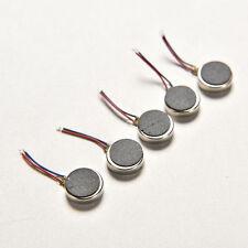 5pcs Vibration 10mm x 2.7 mm 3v Vibrating Vibrator Micro Motor Flat RW