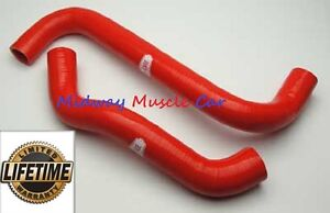 08 09 Pontiac G8 GT  Cold-Case Silicone Radiator Hose Kit - RED