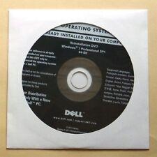 DVD windows 7 pro DELL 64 bits installation /réparation