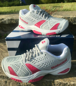 Babolat Tennis Shoe - SFX AC Womens Grey/Pink UK 4.5 EUR 37 New in Box! trainer