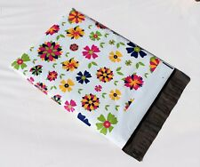 1 10x13 Botanical Blooming Flower Poly Mailer Custom Shipping Boutique Bags