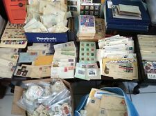 ☆ Stamp Collection Grab Bag Lot! Early US / World / FDC / Mint ☆ 400+ Stamps!