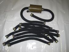 10 stk Stoffschlauch Gasmasken Fetisch Black Style Gummiartikel Filter Poppers