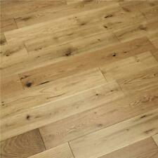 SAMPLE: Engineered Oak Wood Flooring - Brushed Lacquered - 14mm x 3mm x 125mm
