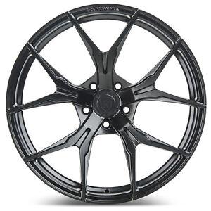 "20"" Rohana RFX5 Matte Black Concave Wheels for Mercedes"