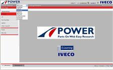 IVECO POWER TRUCK 01 2018 EPC ELECTRONIC PARTS CATALOGUE