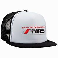 Toyota TRD Trucker Hat Mesh Brand New Snapback Foam