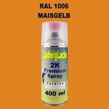 Maisgelb   2K Spraydose Autolack Qualität RAL 1006  400ml schnell trocken
