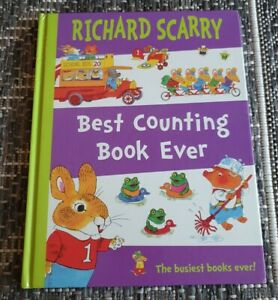Richard Scarry - Best Counting Book Ever - HARDCOVER!