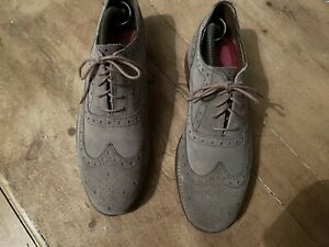 Grenson Suede Brogues ( Size 8 )