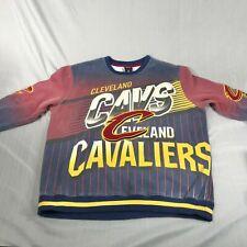 Vintage Cleveland Cavaliers Graphic Crew Neck Pullover Sweatshirt Men's Size L