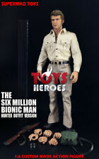 SUPERMAD TOYS STEVE AUSTIN HUNTER OUTFIT THE SIX MILLION DOLLAR MAN BIONIC MAN