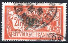 """FRANCE STAMP TIMBRE 145 c """" MERSON 2F CASSURE ECUSSON """" OBLITERE TB A VOIR  P316"""