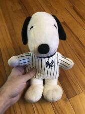Mets New York Yankees Snoopy Plush Doll Peanuts Yanks Jersey 2009 Season Gift