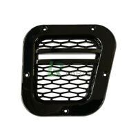 LAND ROVER DEFENDER SVX XS STYLE RHS SIDE WING VENT INTAKE UPGRADE GLOSS BLACK
