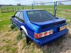 1989 Ford Mustang LX 1989 Ford Mustang Hatchback Blue RWD Automatic LX