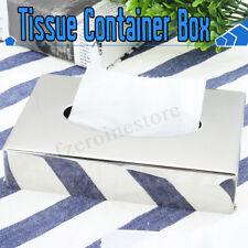 Edelstahl Tissuebox Taschentuchbox Kosmetiktücher-Box Taschentuchspender