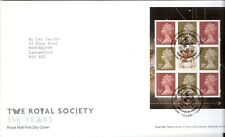 cover topical 350th Anniversary of The Royal Society Fdc medicine