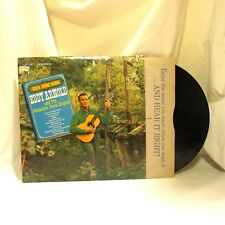1964 Eddy Arnold Folk Song Book Vinyl LP 33 RCA Victor LSP 2811 Folk