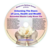 Angel Guided Meditation CD No 42 - LADY KWAN YIN - Unlocking love health wealth