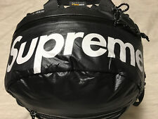 Supreme 2017 FW17 Waterproof Cordura backpack BLACK