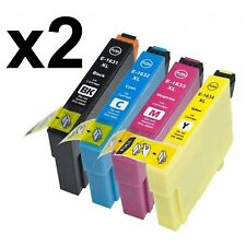 PACK X8 tintas 16XL GEN NONOEM COMPATIBLES T16 XL WorkForce WF-2510WF WF2510WF