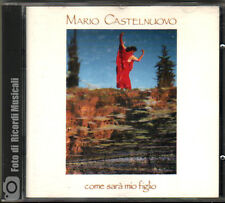 MARIO CASTELNUOVO - COME SARA' MIO FIGLIO (Prima Stampa) 1991 **COME NUOVO**