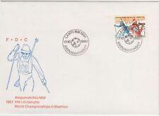 Biathlon World Championships Lahti Finland FDC 1980