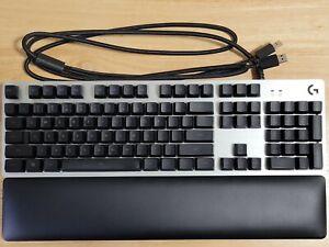 Logitech G513 Backlit Mechanical Romer-G Tactile Gaming Keyboard w/ Palm Rest