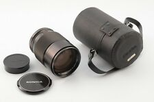 [Near Mint] Konica HEXANON AR 135mm F2.5 w/t cap case Great Condition JAPAN