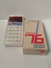 Texas Instruments Spirit Of '76 Electronic Calculator Vintage 1976 Limited Works
