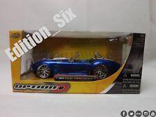 Jada 1:24 Ford Shelby Cobra 427 SC Blue JDM Modifed Tuner Car Boxed