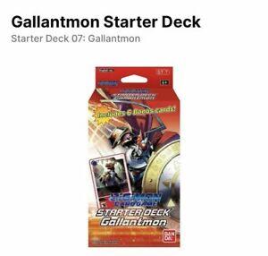 Digimon Starter Deck Gallantmon ST7 - English Presale - 10/8/2021