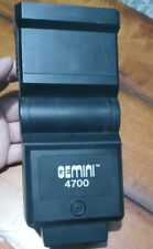Gemini 4700 Camera Flash Attachment Vintage Bends to 0-45-65-90 Degrees