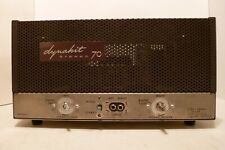 DYNACO ST-70 TUBE STEREO POWER AMPLIFIER WORKING
