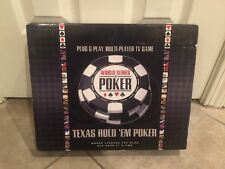 Multi-Player TV Game Texas Hold 'Em World Series of Poker Excalibur Electronics