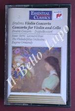 "BRAHMS ""Violin Concerto""  Isaac Stern & Leonard Rose cassette tape album"