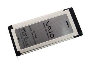 SONY Adapter Reader Multi SDHC SD XD Memory Stick PRO Express Card NEW VGP-MCA20