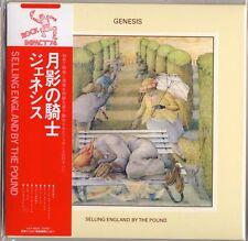 GENESIS-SELLING ENGLAND BY THE POUND-JAPAN MINI LP SHM-CD G00