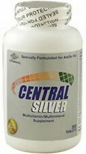Nu-Health Central Silver (300 Tablets) multi vitamins and multi minerals for 50+