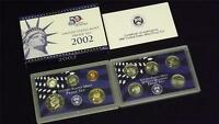 2002 S US Mint Proof 10 Coin Set