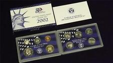 2002 S US Mint Proof 10 Coin Set
