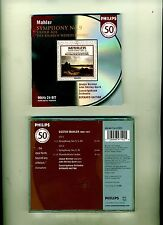 MAHLER SYMPHONY 9-HAITINK-PHILLIPS 50 GREAT RECORDINGS-24 BIT 2001-2CD SET NR FN
